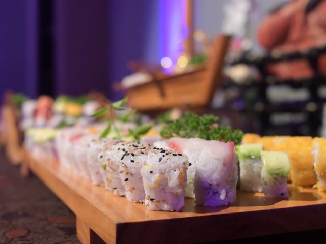 Descubran cómo incluir el sushi en su matrimonio