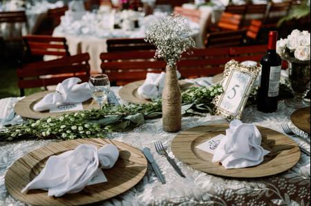Consigan que sus centros de mesa de matrimonio sean tan ecológicos como preciosos