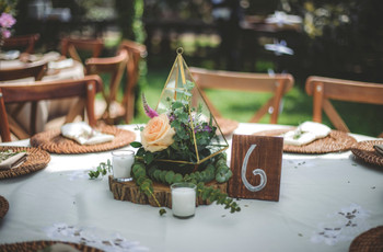 Estilo geométrico: las 10 ideas más chic para decorar su boda