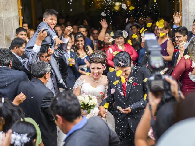 Arroz en su matrimonio: un acto cargado de simbolismo que no pasará de moda