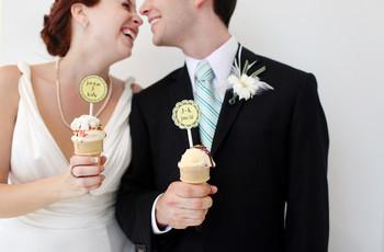 Helado en su matrimonio: 7 deliciosas ideas para incluirlo y ¡engreír a todos!