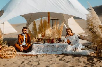 Decoración floral para tu boda: hierba de la Pampa, la nueva tendencia bridal