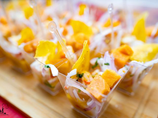 Disfruten de un buen ceviche en su recepción de bodas: estas son las 12 maneras de servirlo ¡se les hará agua la boca!