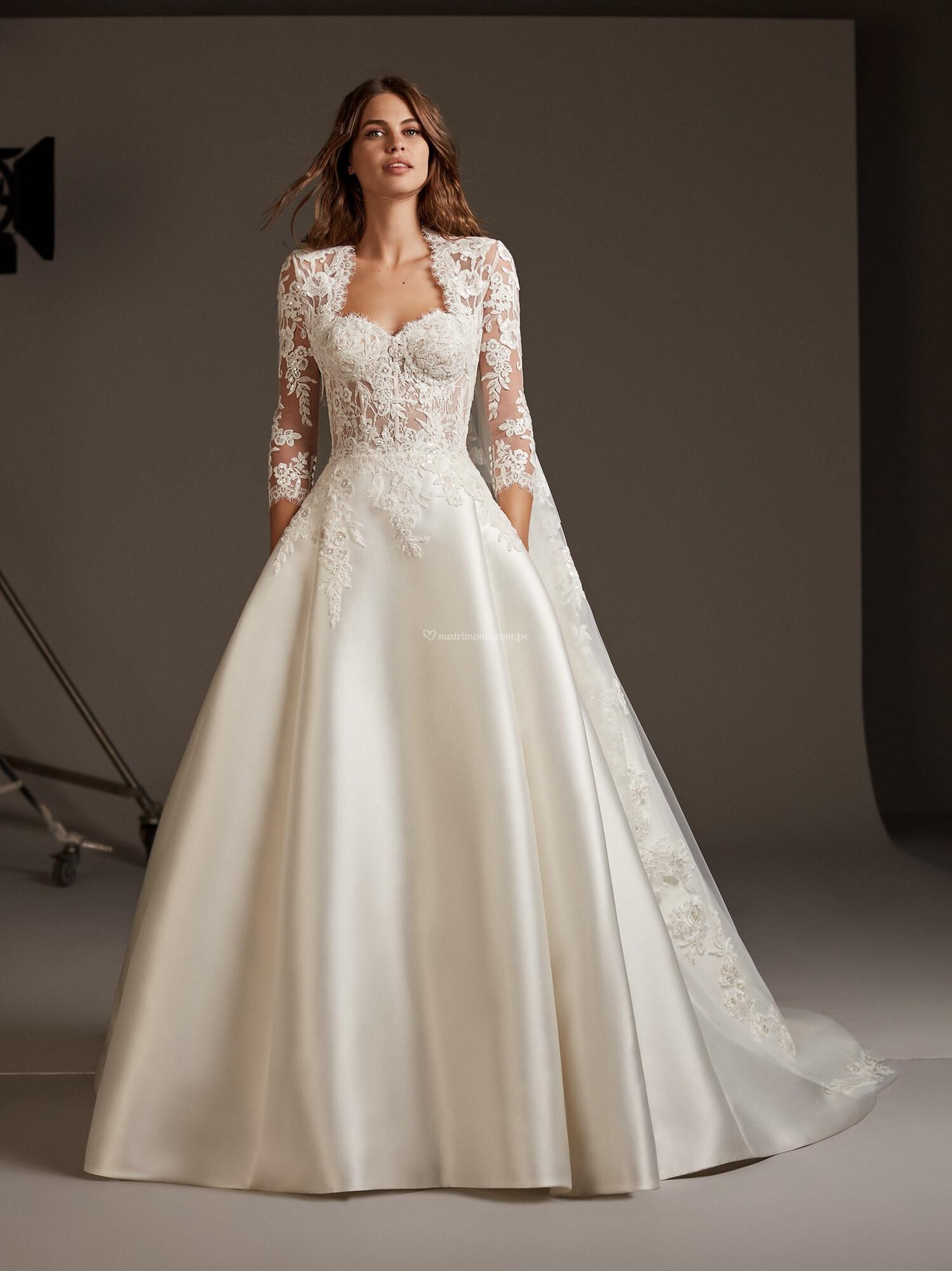 Vestidos corte princesa 2020 11