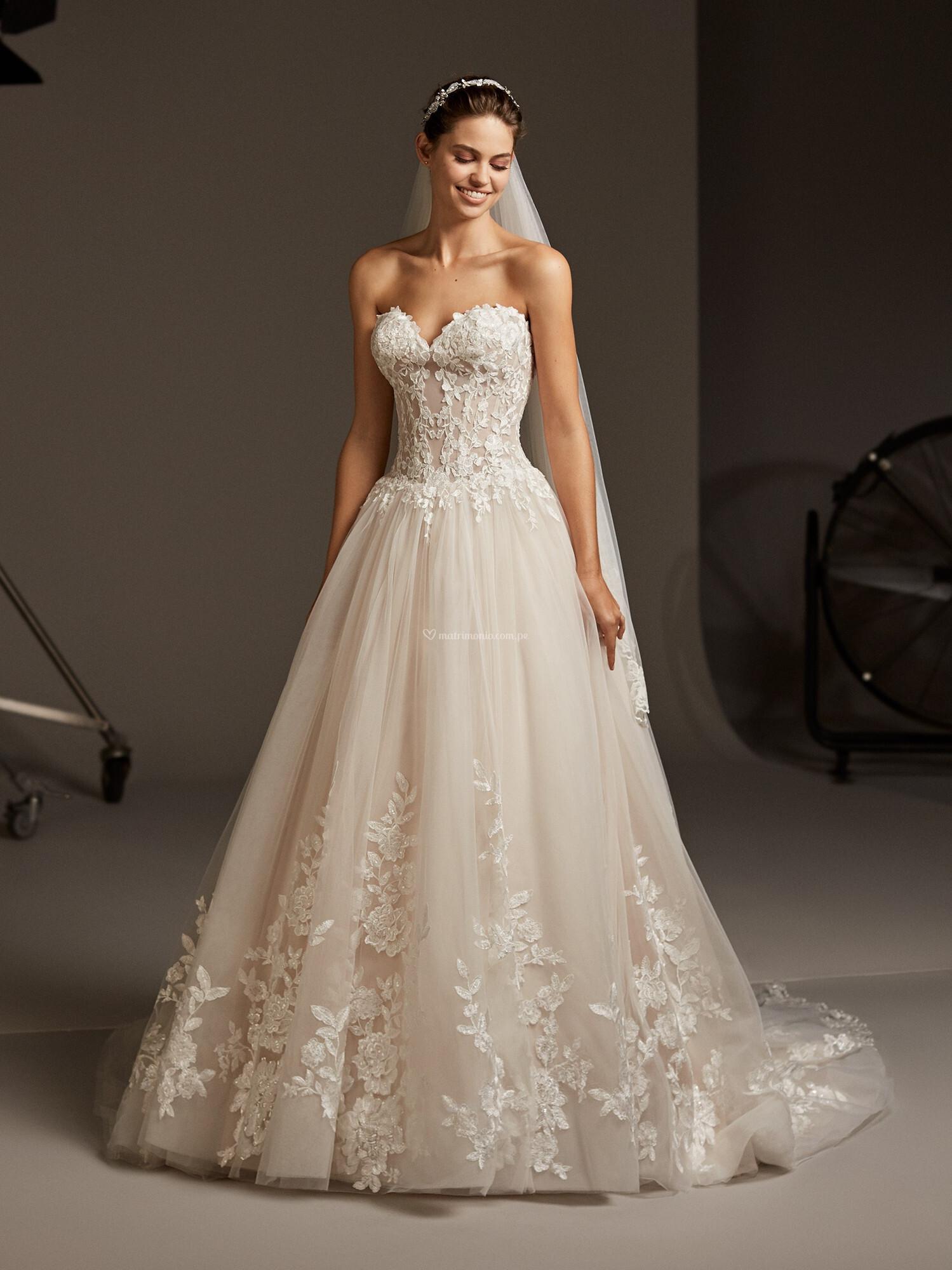 Vestidos corte princesa 2020 14