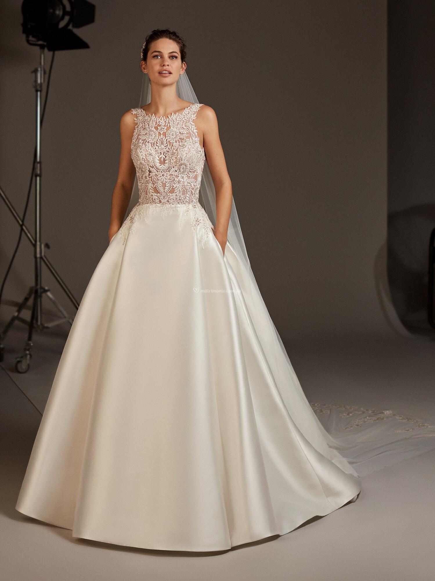 Vestidos corte princesa 2020 4