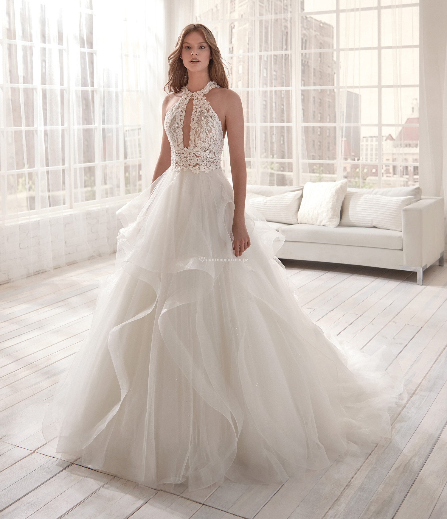 Vestidos corte princesa 2020 8