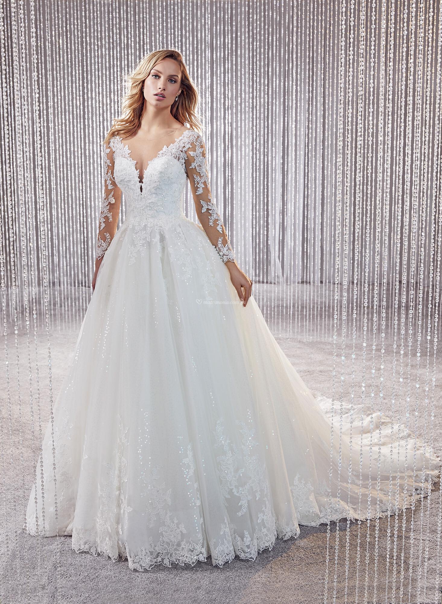 Vestidos corte princesa 2020 16