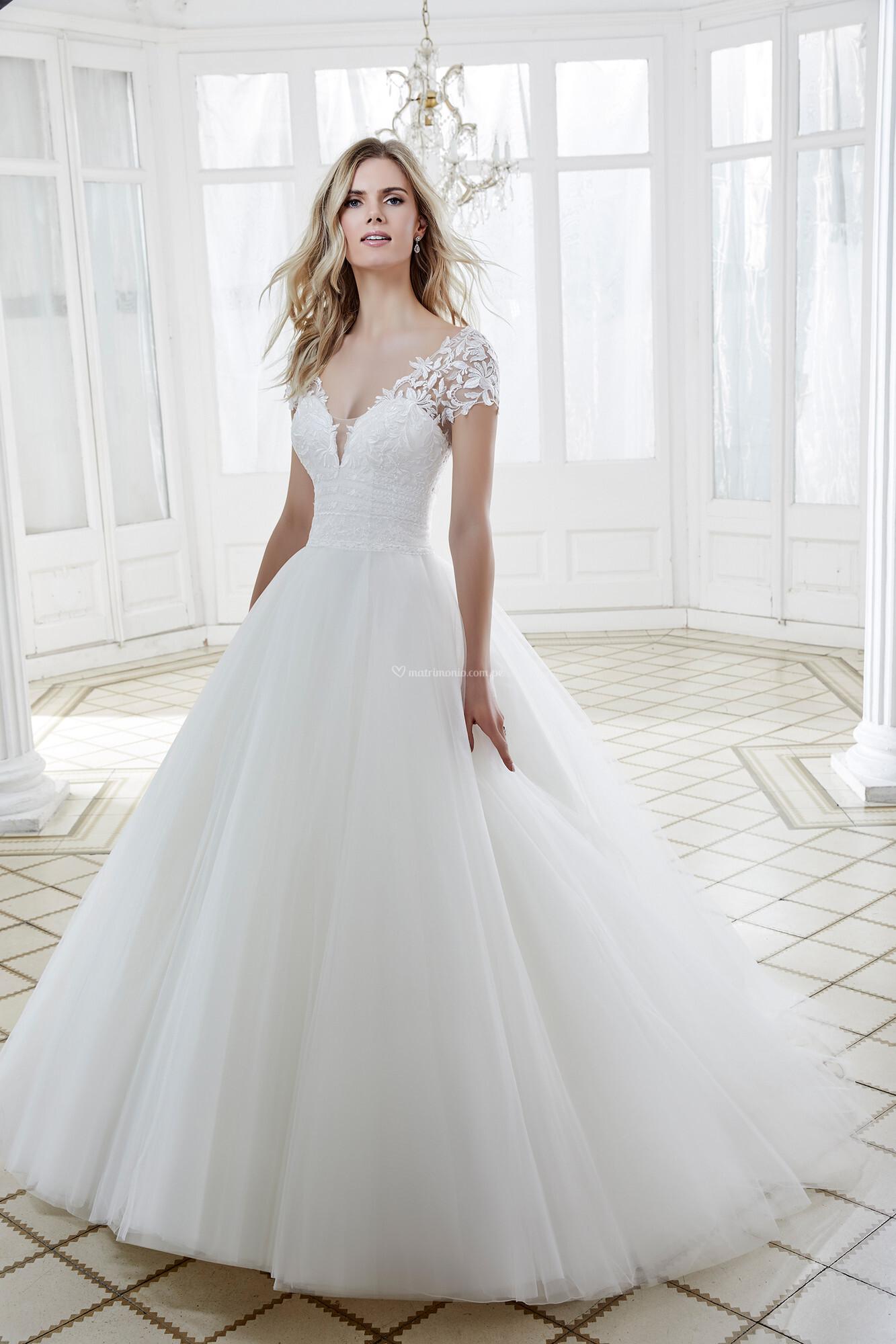 Vestidos corte princesa 2020 7