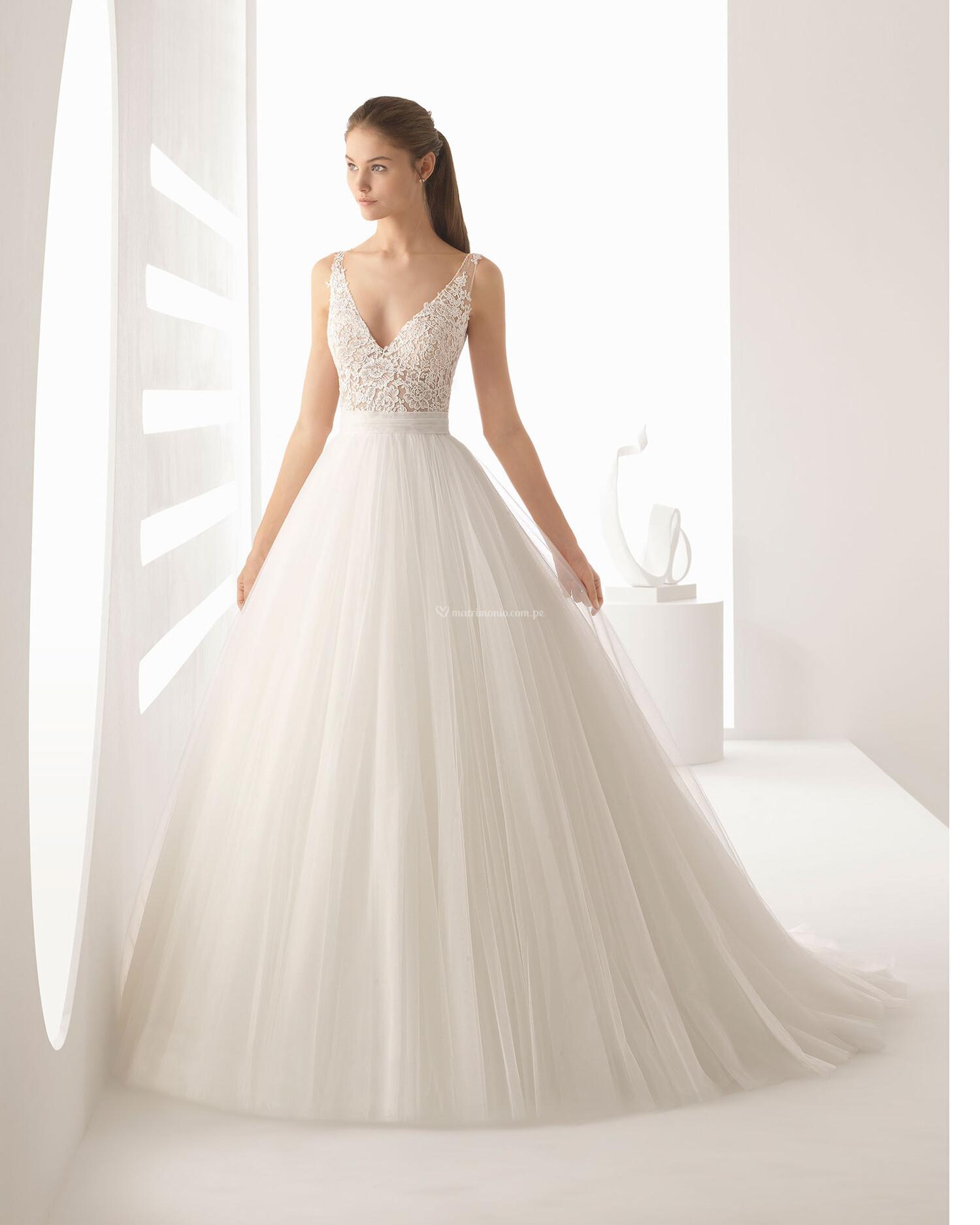 Vestidos corte princesa 2020 5