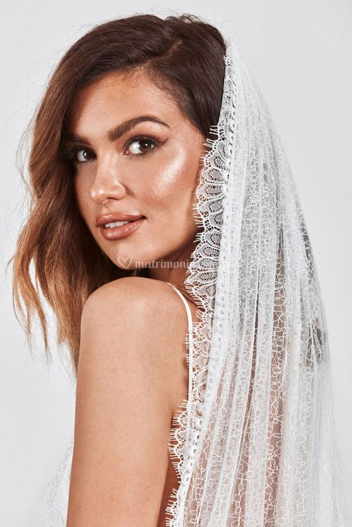 chantilly veil, Grace Loves Lace