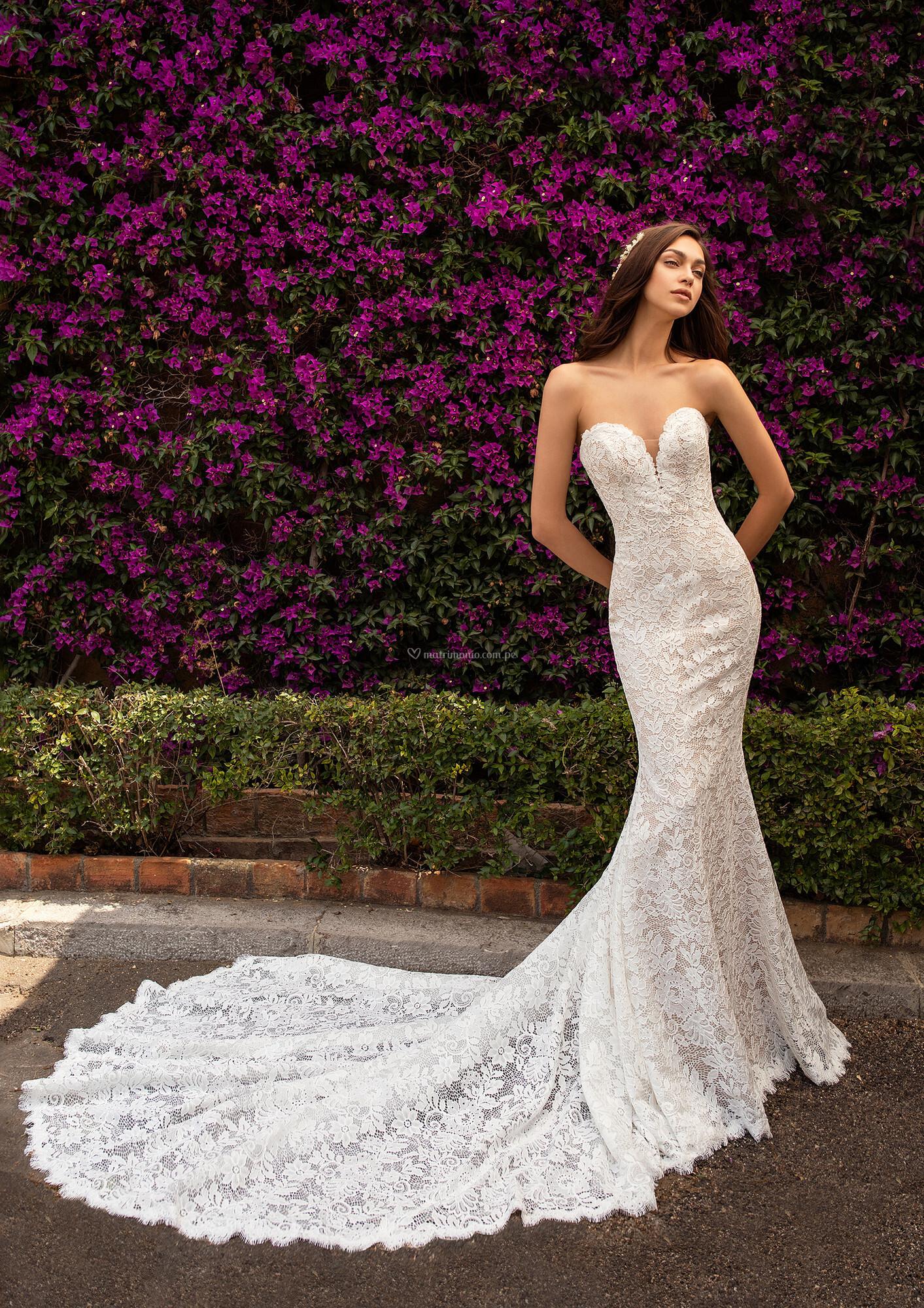 Vestido de novia en corte sirena ¡Déjate conquistar! 😍 1