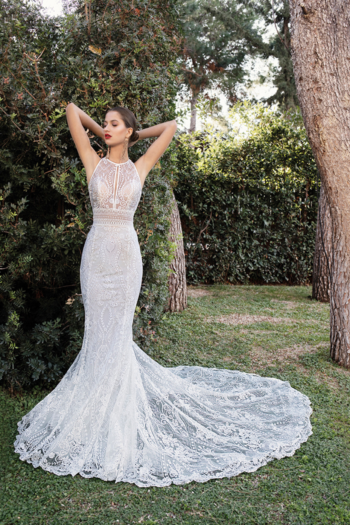 Vestido de novia en corte sirena ¡Déjate conquistar! 😍 3