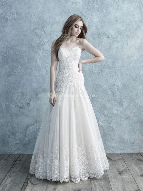9655, Allure Bridals