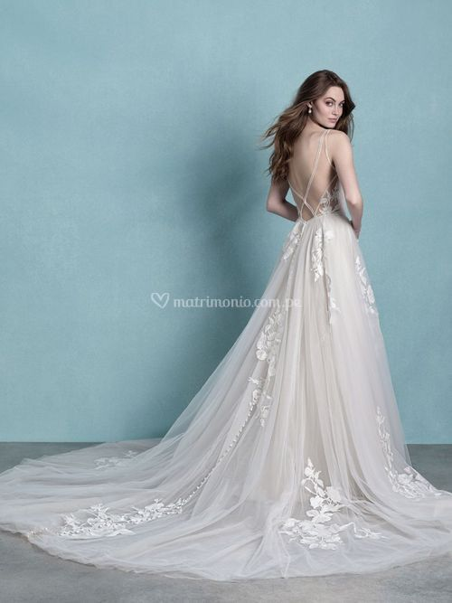 9757, Allure Bridals