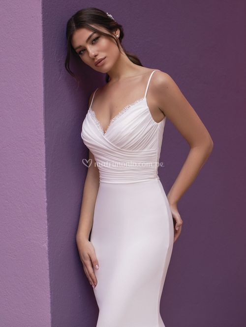lilac, White One