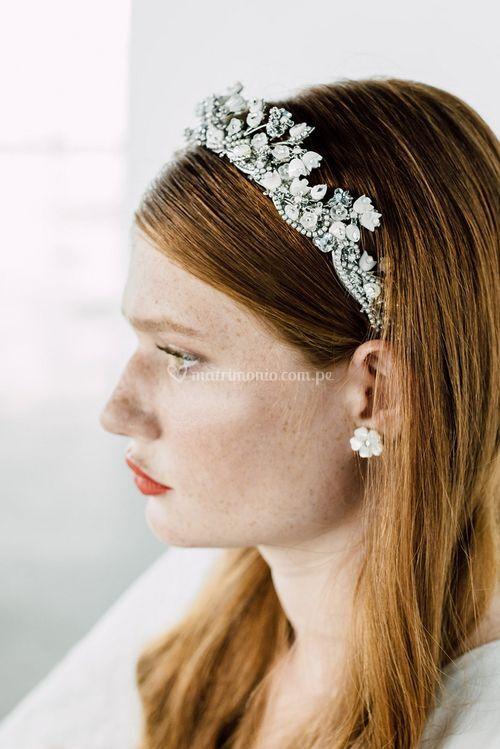 LOTTIE CROWN, Maria Elena Headpieces