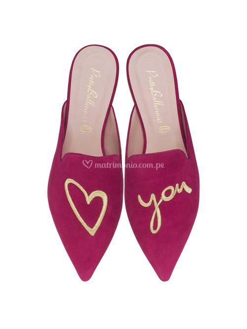 Ella fuchsia love you, Pretty Ballerinas