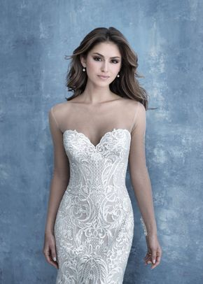 B21 sleeves, Allure Bridals