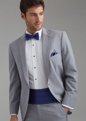 Heather Gray Notch Groom's Coat, Allure Men