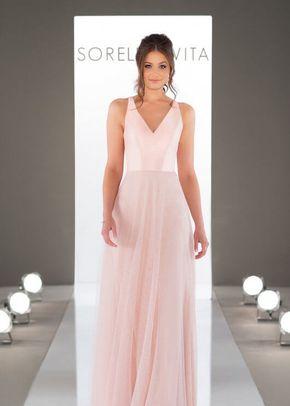 9170 Open Back Bridesmaid Dress by Sorella Vita, Sorella Vita