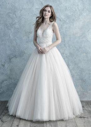 9663, Allure Bridals