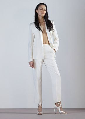 ANELISE TROUSERS-IVORY CREPE, 88