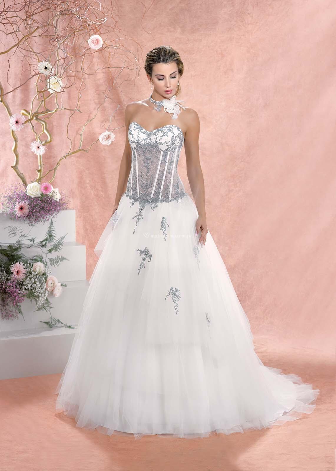Lujoso Vestido De Novia Jordan Molde - Colección de Vestidos de Boda ...