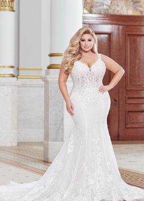 220266w, Mon Cheri Bridals