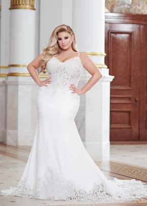 220277w, Mon Cheri Bridals