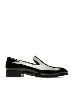 Black Wholecut Loafers, Brioni