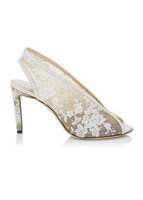 HAR 85 IVORY FLORAL, Jimmy Choo