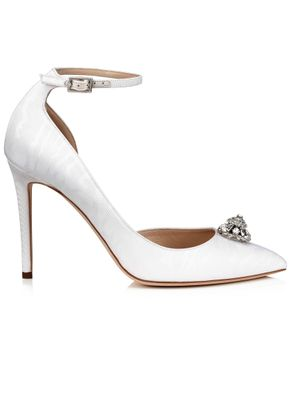 LUCY 100  WHITE, Jimmy Choo