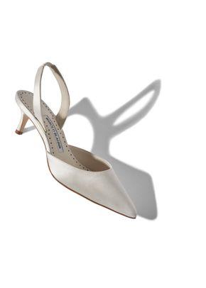 CAROLYNE BRIDE white, Manolo Blahnik