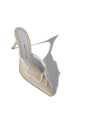 PEREGRINA light brown, Manolo Blahnik