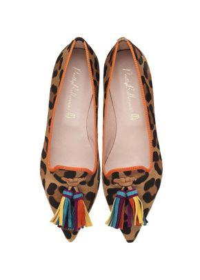 Ella leopard multi tassel, Pretty Ballerinas