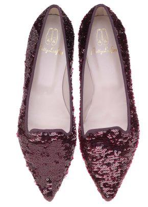 Ella wine sequins , Pretty Ballerinas