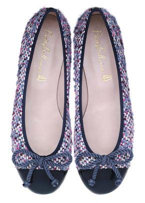 Rosario lilac tweed, Pretty Ballerinas