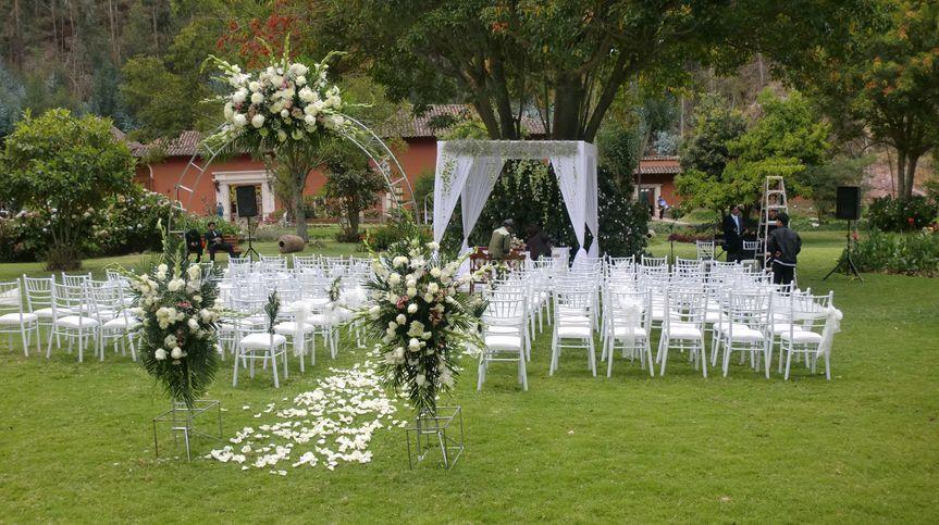 Capilla para ceremonia