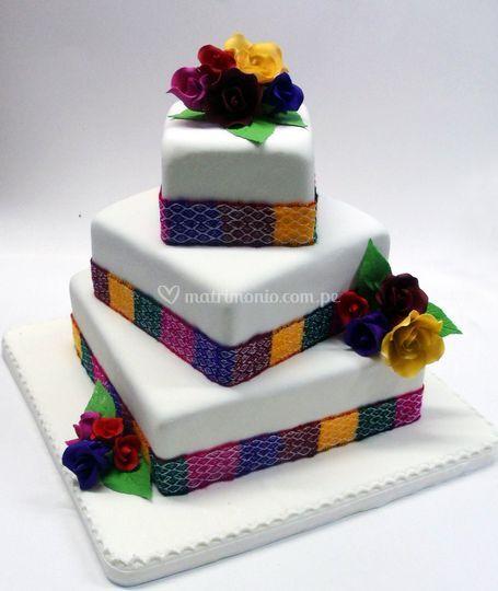 Torta estilo andino