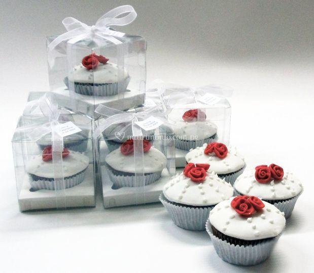 Cupcakes en cajitas