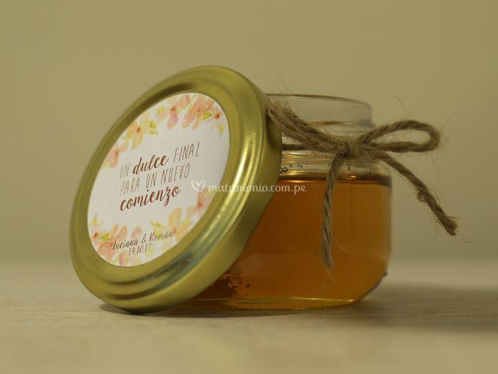 Frasco miel