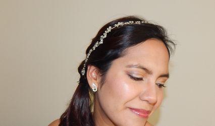 Karina Vizcarra Make Up 1