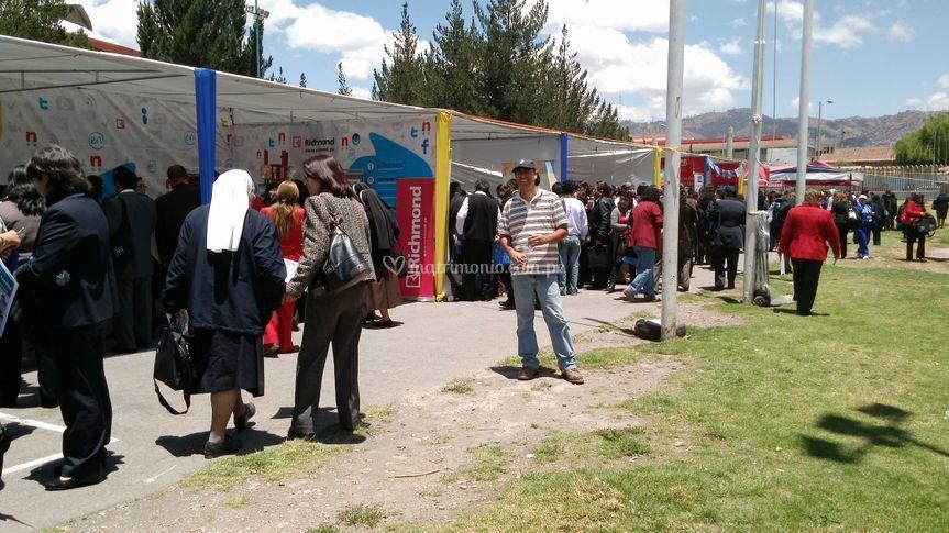 Feria en Cusco
