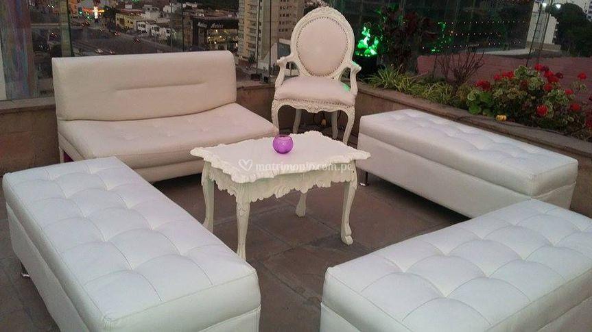 Mesas para su sala lounge
