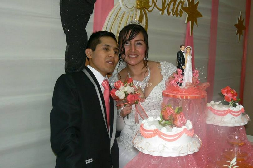 Tortas matrimonios