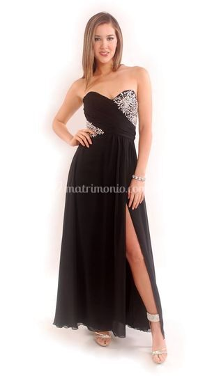 Elegante en negro