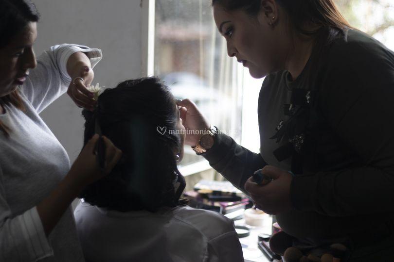 Make up de la novia