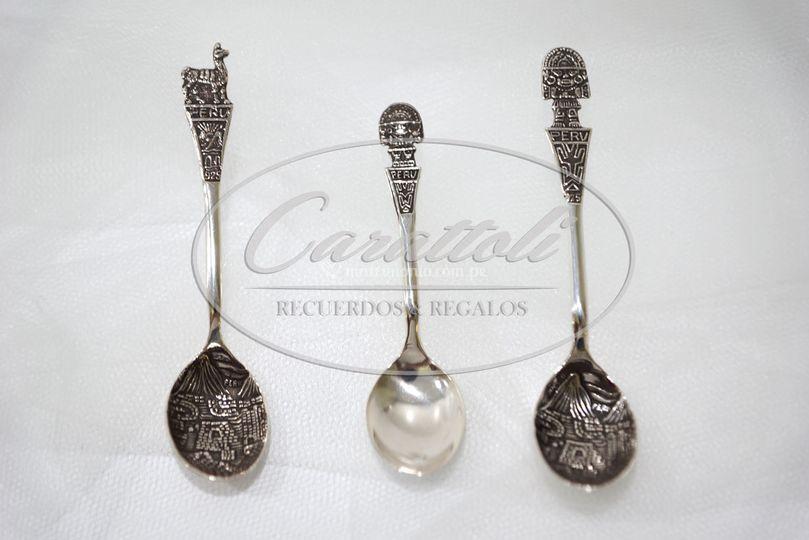 Cucharitas de plata