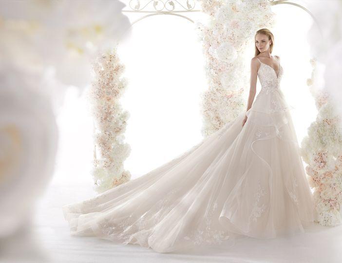 Vestido de novia Colet